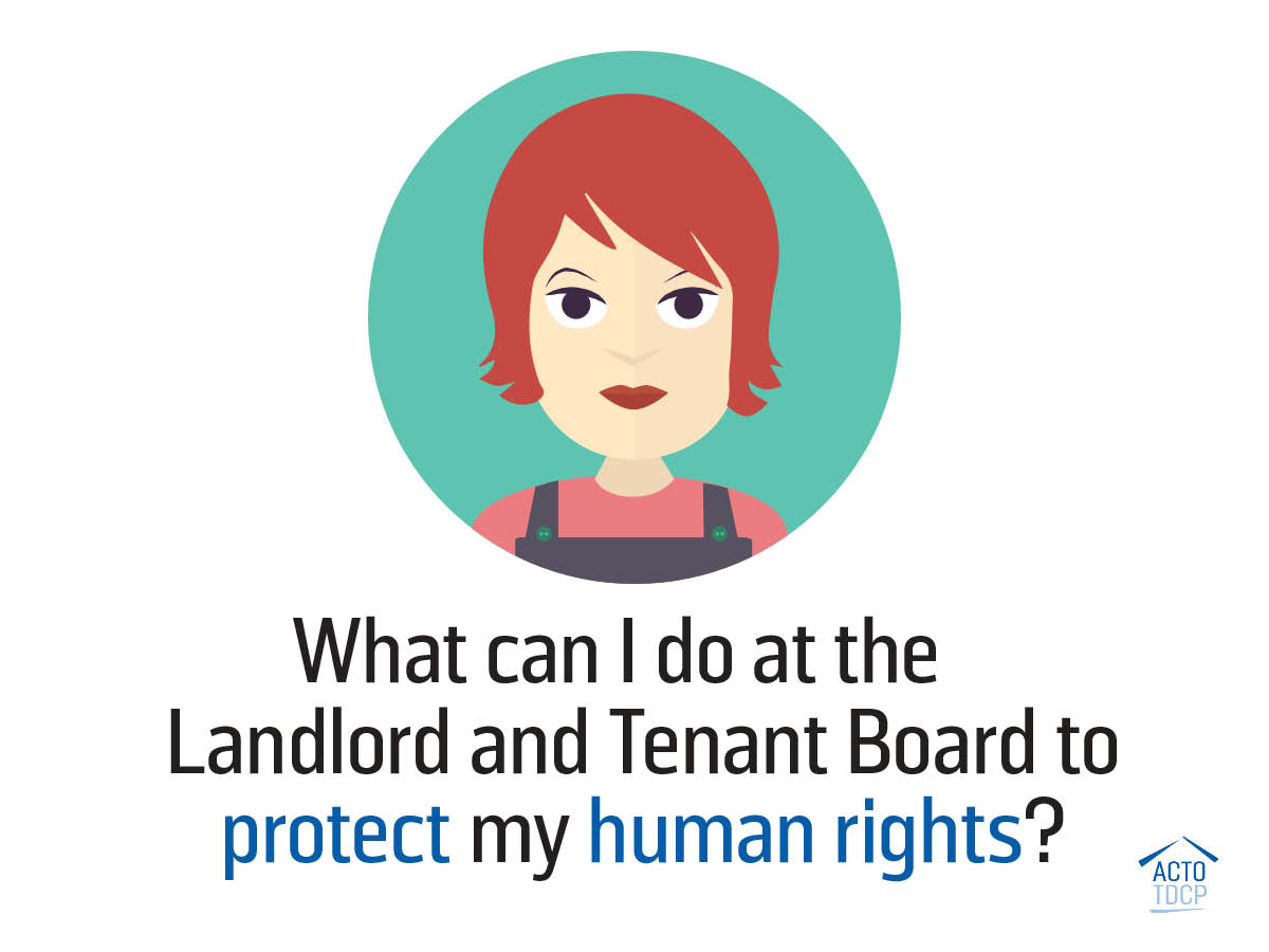 My landlord does not respect my human rights