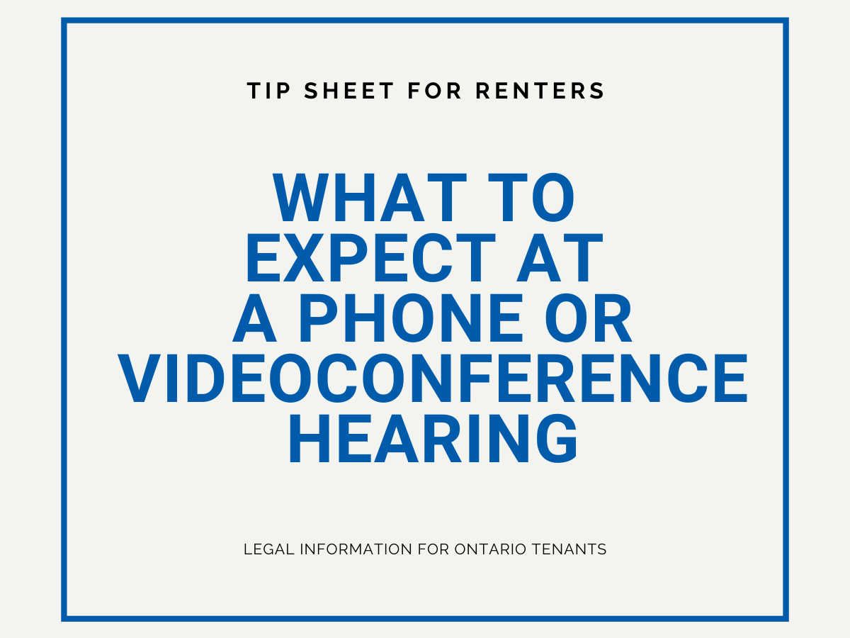 What to expect at a phone or videoconference hearing